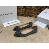 Manolo Blahnik Flat Shoes For Women #463749