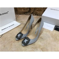 Manolo Blahnik High-Heeled Shoes For Women #463750