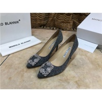 Manolo Blahnik High-Heeled Shoes For Women #463755