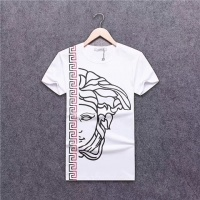 Cheap Versace T-Shirts Short Sleeved O-Neck For Men #463914 Replica Wholesale [$24.25 USD] [W#463914] on Replica Versace T-Shirts