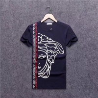 Cheap Versace T-Shirts Short Sleeved O-Neck For Men #463916 Replica Wholesale [$24.25 USD] [W#463916] on Replica Versace T-Shirts