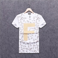 Cheap Fendi T-Shirts Short Sleeved O-Neck For Men #463959 Replica Wholesale [$24.25 USD] [W#463959] on Replica Fendi T-Shirts