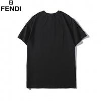 Cheap Fendi T-Shirts Short Sleeved O-Neck For Men #464008 Replica Wholesale [$31.04 USD] [W#464008] on Replica Fendi T-Shirts
