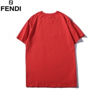 Cheap Fendi T-Shirts Short Sleeved O-Neck For Men #464016 Replica Wholesale [$31.04 USD] [W#464016] on Replica Fendi T-Shirts