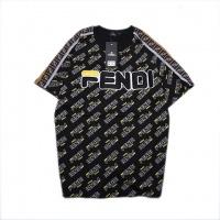 Cheap Fendi T-Shirts Short Sleeved O-Neck For Men #464017 Replica Wholesale [$31.04 USD] [W#464017] on Replica Fendi T-Shirts