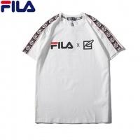 Cheap FILA T-Shirts Short Sleeved O-Neck For Men #464025 Replica Wholesale [$31.04 USD] [W#464025] on Replica FILA T-Shirts
