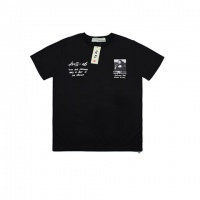 Cheap Off-White T-Shirts Short Sleeved O-Neck For Men #464036 Replica Wholesale [$26.19 USD] [W#464036] on Replica Off-White T-Shirts