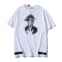 Off-White T-Shirts Short Sleeved O-Neck For Men #464049