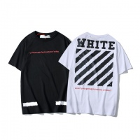 Cheap Off-White T-Shirts Short Sleeved O-Neck For Men #464052 Replica Wholesale [$28.13 USD] [W#464052] on Replica Off-White T-Shirts