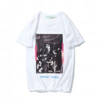Off-White T-Shirts Short Sleeved O-Neck For Men #464071