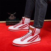 Cheap Bally High Tops Shoes For Men #464073 Replica Wholesale [$85.36 USD] [W#464073] on Replica Bally High-Tops Shoes