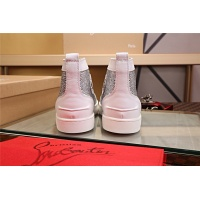 Cheap Christian Louboutin CL High Tops Shoes For Men #464155 Replica Wholesale [$77.60 USD] [W#464155] on Replica Christian Louboutin High Tops Shoes