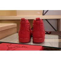 Cheap Christian Louboutin CL High Tops Shoes For Men #464165 Replica Wholesale [$77.60 USD] [W#464165] on Replica Christian Louboutin High Tops Shoes