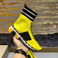 Cheap Dolce&Gabbana D&G High Tops Shoes For Men #464214 Replica Wholesale [$72.75 USD] [W#464214] on Replica D&G High Top Shoes