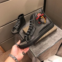 Cheap Dolce&Gabbana D&G High Tops Shoes For Men #464216 Replica Wholesale [$77.60 USD] [W#464216] on Replica D&G High Top Shoes