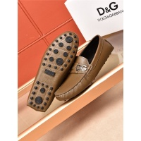 Dolce&Gabbana D&G Leather Shoes For Men #464219