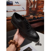 Dolce&Gabbana D&G Leather Shoes For Men #464221