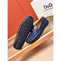 Cheap Dolce&Gabbana D&G Leather Shoes For Men #464224 Replica Wholesale [$75.66 USD] [W#464224] on Replica Dolce & Gabbana D&G Leather Shoes
