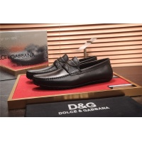 Dolce&Gabbana D&G Leather Shoes For Men #464227
