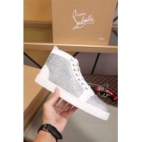 Cheap Christian Louboutin CL High Tops Shoes For Women #464232 Replica Wholesale [$77.60 USD] [W#464232] on Replica Christian Louboutin High Tops Shoes