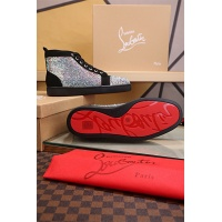 Cheap Christian Louboutin CL High Tops Shoes For Men #464235 Replica Wholesale [$125.13 USD] [W#464235] on Replica Christian Louboutin High Tops Shoes