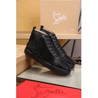 Cheap Christian Louboutin CL High Tops Shoes For Men #464236 Replica Wholesale [$125.13 USD] [W#464236] on Replica Christian Louboutin High Tops Shoes