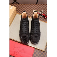 Cheap Christian Louboutin CL High Tops Shoes For Men #464239 Replica Wholesale [$125.13 USD] [W#464239] on Replica Christian Louboutin High Tops Shoes