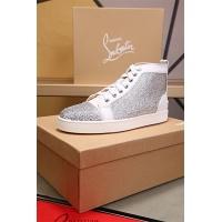 Cheap Christian Louboutin CL High Tops Shoes For Women #464241 Replica Wholesale [$77.60 USD] [W#464241] on Replica Christian Louboutin High Tops Shoes