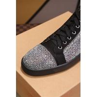 Cheap Christian Louboutin CL High Tops Shoes For Women #464244 Replica Wholesale [$77.60 USD] [W#464244] on Replica Christian Louboutin High Tops Shoes