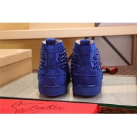 Cheap Christian Louboutin CL High Tops Shoes For Women #464250 Replica Wholesale [$77.60 USD] [W#464250] on Replica Christian Louboutin High Tops Shoes