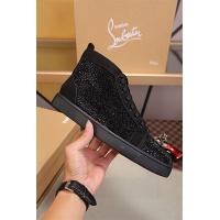 Cheap Christian Louboutin CL High Tops Shoes For Women #464253 Replica Wholesale [$125.13 USD] [W#464253] on Replica Christian Louboutin High Tops Shoes