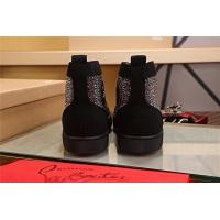Cheap Christian Louboutin CL High Tops Shoes For Women #464258 Replica Wholesale [$125.13 USD] [W#464258] on Replica Christian Louboutin High Tops Shoes