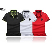 Cheap Dolce & Gabbana D&G T-Shirts Short Sleeved Polo For Men #464476 Replica Wholesale [$32.98 USD] [W#464476] on Replica Dolce & Gabbana D&G T-Shirts