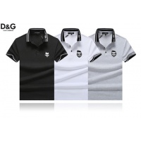 Cheap Dolce & Gabbana D&G T-Shirts Short Sleeved Polo For Men #464479 Replica Wholesale [$32.98 USD] [W#464479] on Replica Dolce & Gabbana D&G T-Shirts
