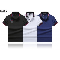 Cheap Dolce & Gabbana D&G T-Shirts Short Sleeved Polo For Men #464490 Replica Wholesale [$32.98 USD] [W#464490] on Replica Dolce & Gabbana D&G T-Shirts