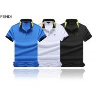 Cheap Fendi T-Shirts Short Sleeved Polo For Men #464503 Replica Wholesale [$32.98 USD] [W#464503] on Replica Fendi T-Shirts