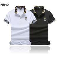Cheap Fendi T-Shirts Short Sleeved Polo For Men #464505 Replica Wholesale [$32.98 USD] [W#464505] on Replica Fendi T-Shirts