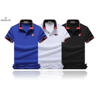 Cheap Moncler T-Shirts Short Sleeved Polo For Men #464519 Replica Wholesale [$32.98 USD] [W#464519] on Replica Moncler T-Shirts
