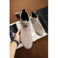 Cheap Giuseppe Zanotti GZ Fashion Boots For Men #464548 Replica Wholesale [$82.45 USD] [W#464548] on Replica Giuseppe Zanotti Boots