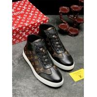 Cheap Supreme High Tops Shoes For Men #464564 Replica Wholesale [$72.75 USD] [W#464564] on Replica Supreme Fashion Shoes