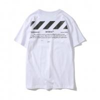 Off-White T-Shirts Short Sleeved O-Neck For Men #464579