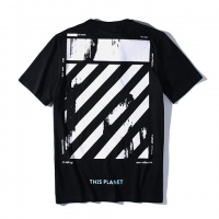 Cheap Off-White T-Shirts Short Sleeved O-Neck For Men #464589 Replica Wholesale [$28.13 USD] [W#464589] on Replica Off-White T-Shirts
