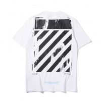 Cheap Off-White T-Shirts Short Sleeved O-Neck For Men #464591 Replica Wholesale [$28.13 USD] [W#464591] on Replica Off-White T-Shirts