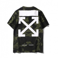 Off-White T-Shirts Short Sleeved O-Neck For Men #464597