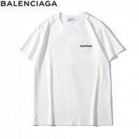 Cheap Balenciaga T-Shirts Short Sleeved O-Neck For Men #464745 Replica Wholesale [$31.04 USD] [W#464745] on Replica Balenciaga T-Shirts