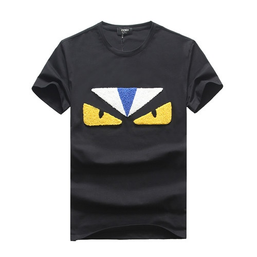 Fendi T-Shirts Short Sleeved O-Neck For Men #465597
