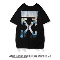Off-White T-Shirts Short Sleeved O-Neck For Men #464909