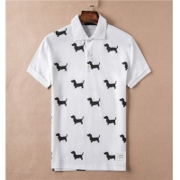 Thom Browne TB T-Shirts Short Sleeved Polo For Men #465010