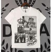 Dolce & Gabbana D&G T-Shirts Short Sleeved O-Neck For Men #465108