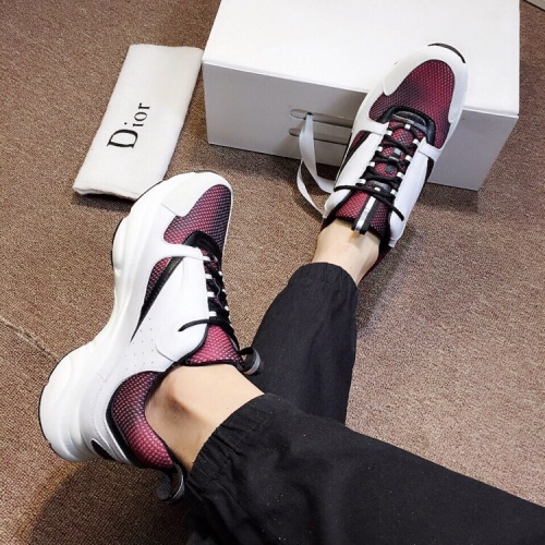 Cheap Christian Dior Casual Shoes For Women #468001 Replica Wholesale [$85.36 USD] [W#468001] on Replica Christian Dior Shoes